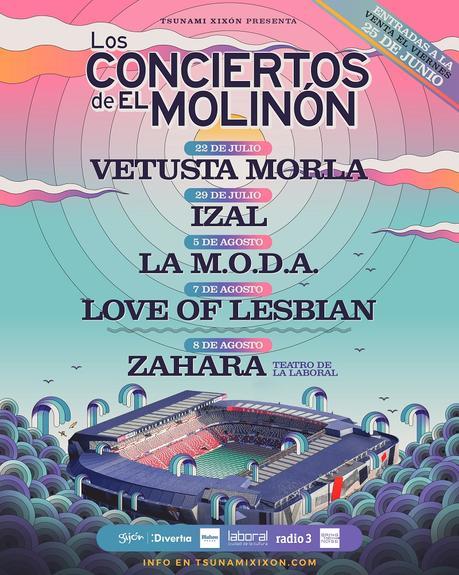 Los conciertos de El Molinón: ciclo en Gijón