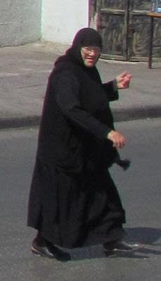 Mujeres en la calle en países musulmanes: