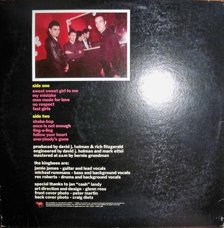 The Kingbees -The Kingbees Lp 1980