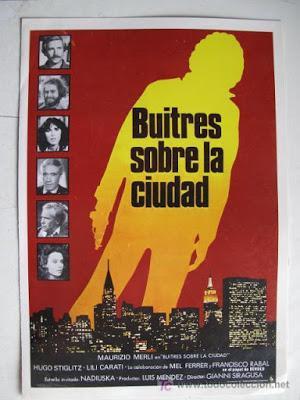 BUITRES SOBRE LA CIUDAD (Avvoltoi sulla città) (España, Italia, México; 1980) Thriller, Policíaco, Político