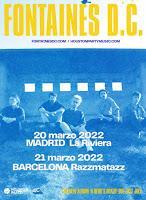 Fontaines D.C., conciertos en España en 2022
