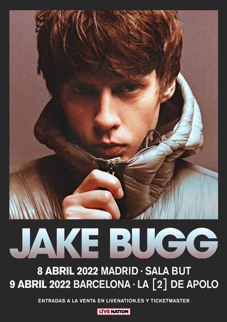 Conciertos de Jake Bugg en Madrid y Barcelona en 2022