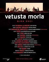 Conciertos de Vetusta Morla en 2021