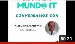 Mundo IT - Conversación con Alejandro Aranguren - CIO Instituto Cardiovascular de Buenos Aires.