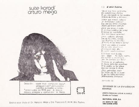 Arturo Meza - Suite Koradí (1985)