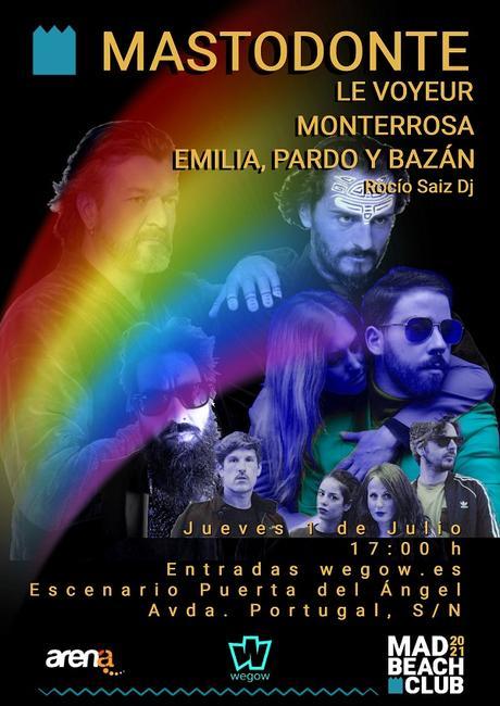 Fiesta-concierto de MADO'21 en MadBeach Club Madrid