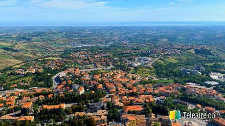 Panorámica de San Marino Turismo