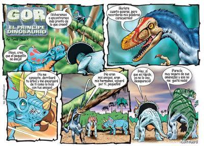 Dinocómics (XI): El príncipe