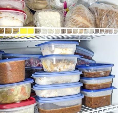 Puedes congelar la comida que te sobre para consumirla posteriormente