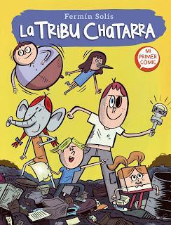 La tribu chatarra. Mi primer cómic. Fermín Solís