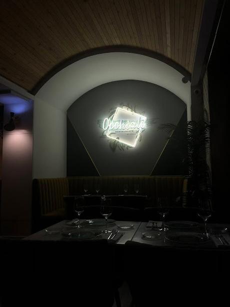 Restaurante Occhiali, sabores intensos