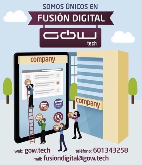 La Fusión Digital es la nueva propuesta de GOWtech para digitalizar y potenciar las ventas de los negocios