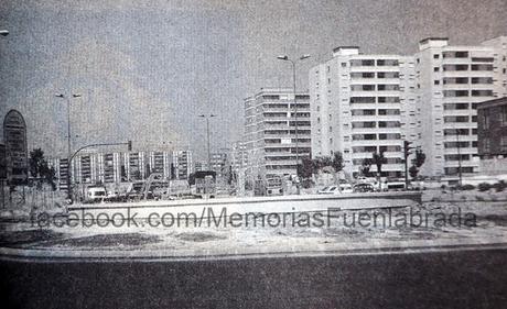Entrada de Leganés en 1987