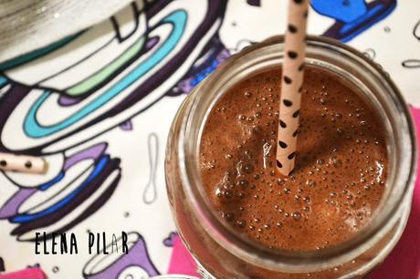 Café frappé especiado, sin azúcar