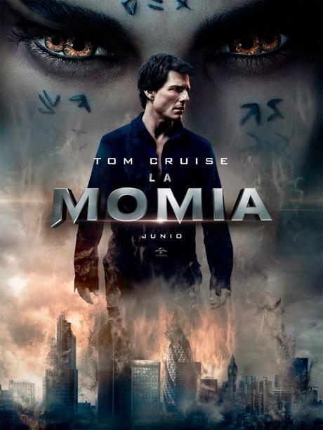 La película de la Momia 2017 por Tom Cruise