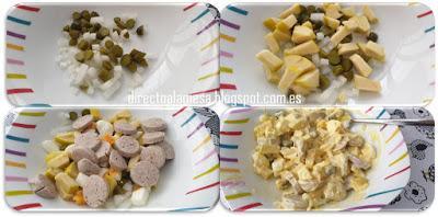 Ensalada alemana o Kartoffelsalat