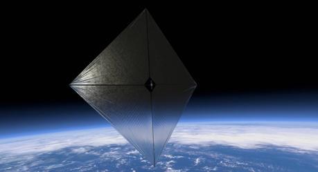 alternativas solares: la vela solar de la NASA 3