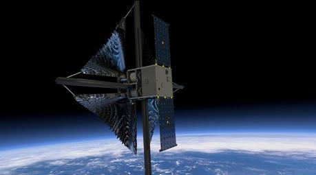 alternativas solares: la vela solar de la NASA 2
