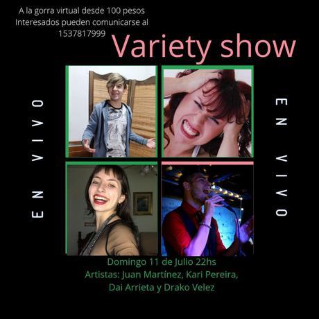 Varieté Show desde lo virtual