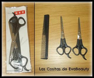 Kit tijeras peluquería Aliexpress #tijeras #aliexpress