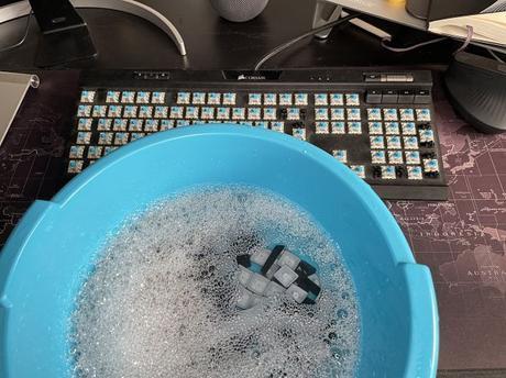 Limpia las teclas de tu teclado