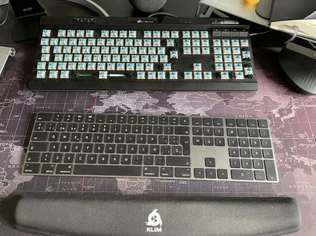 Como limpiar un teclado de membrana