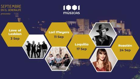 Septiembre en el Generalife: conciertos y entradas