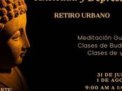 Guadalajara: Retiro urbano budismo yoga para manejar ansiedad depresión. julio 2021