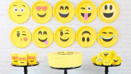 Decoración fiesta de Emojis para imprimir gratis