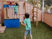 Parques infantiles madera diseño personalizado
