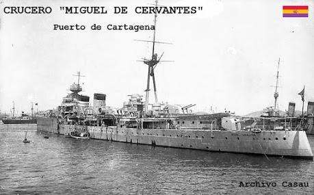 """EL 18 DE JULIO DE 1965, LA DICTADURA FRANQUISTA Y EL CRUCERO """"MIGUEL DE CERVANTES"""""""