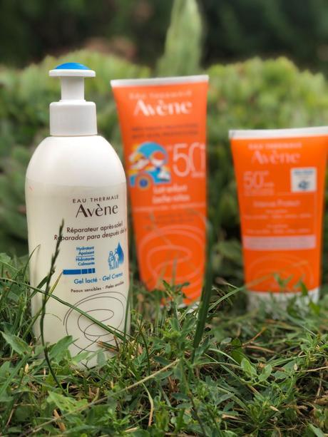 Las cremas solares de Avene son para mis hijos, aunque se resistan