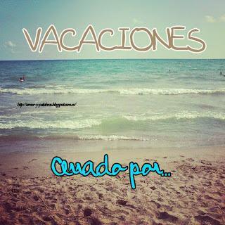 Cerrado por... ¡vacaciones!