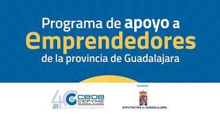 Comienza la cuarta edición del Programa de apoyo a emprendedores de la provincia de Guadalajara