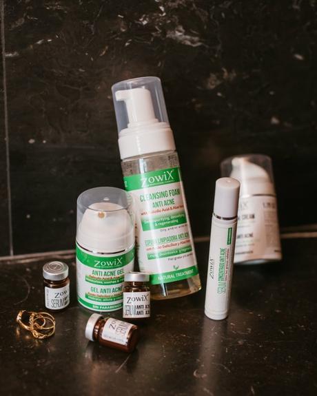 Zowix, los mejores productos anti acné con ingredientes naturales.