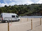 pueblo malagueño Canillas Albaida estrena Área Autocaravana para atraer turismo itinerante