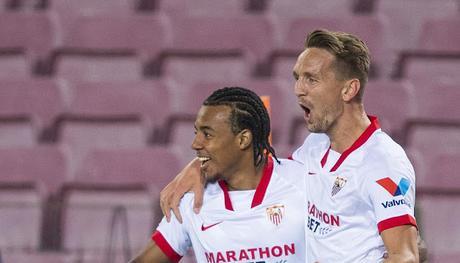 El Sevilla FC recibirá 567.000 euros por la participación de Koundé y De Jong en la Eurocopa