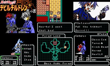 Shin Megami Tensei: Devil Children – Kuro no Sho de Game Boy Color traducido al inglés
