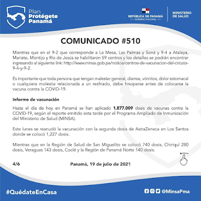Comunicado #510 MINSA