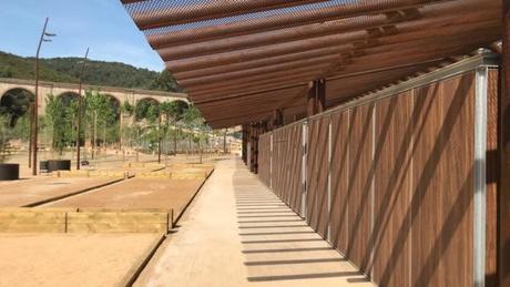 Abre el parque del Aqüeducte en Ciutat Meridiana