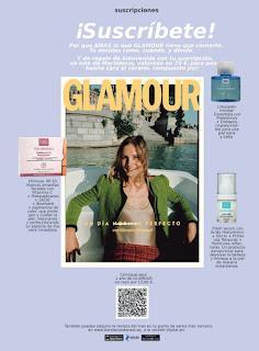 Suscripción Revista Glamour agosto y septiembre 2021