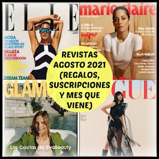 #revistas #revistasagosto #revistasseptiembre #noticiasmoda #noticiasbelleza #fashion #moda #regalosrevistas #suscripciones #revistasfemeninas #woman