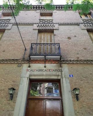 Visita guiada a la Real Fábrica de Tapices de Madrid