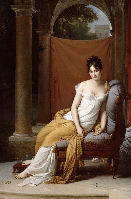 Juliette Récamier: Icono de la moda y del neoclasicismo
