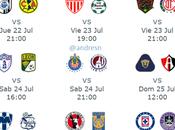 Guia jornada pronósticos, horarios canales trasmisión futbol mexicano
