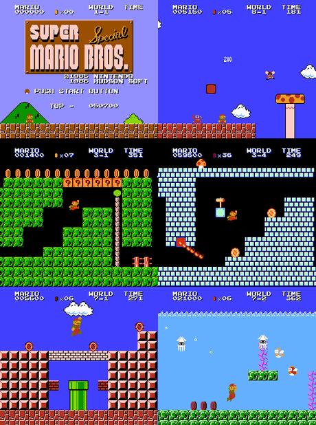 [Hack] Super Mario Bros. Special – 35th Anniversary Edition (NES)