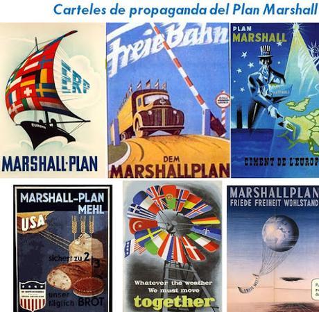 Propaganda sobre el Plan Marshall
