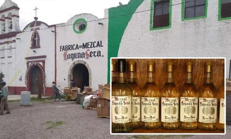 Embargan la emblemática fábrica de mezcal Laguna Seca