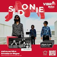 Concierto de Sidonie y Los Invaders en MadBeach Club