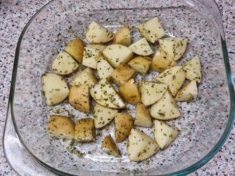 Patatas al horno, una guarnición sana y deliciosa